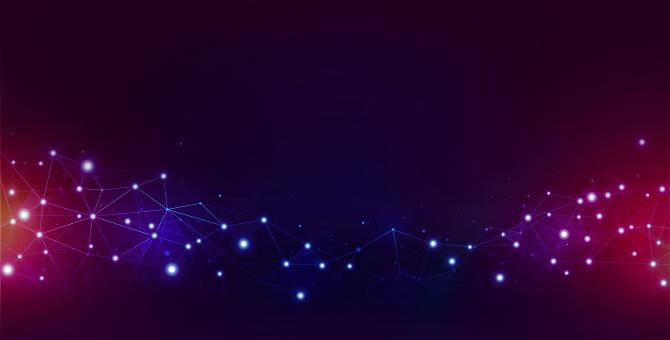 Free Stock Photo of Abstract Background - Network with Light Effects