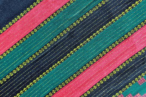 Free Stock Photo of Ethnic Pink, Green and Blue Pattern - Fabric Background