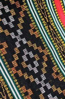 Free Stock Photo of Ethnic Fabric Background
