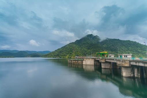 Free Stock Photo of Randenigala Reservoir in Sri Lanka