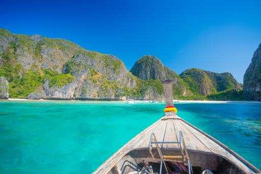 Free Stock Photo of Maya bay - Thailand