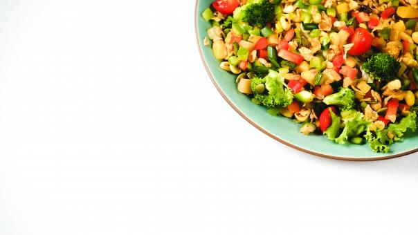 Free Stock Photo of Vegan Salad