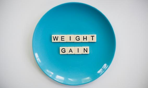 Free Stock Photo of Weight Gain Text Blocks