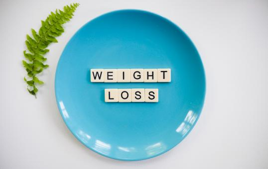 Free Stock Photo of Weight Loss Text Blocks