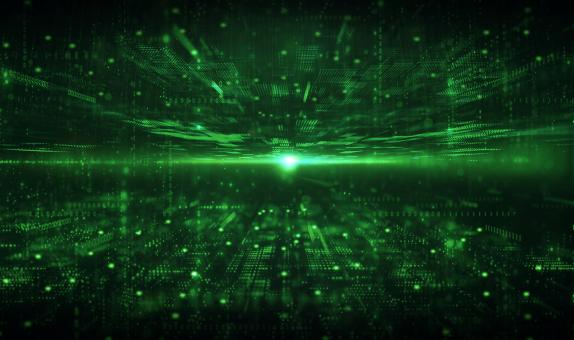 Free Stock Photo of Deep Web - Green Abstract Background - Technology Background