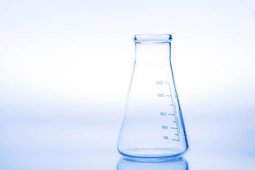 Free Stock Photo of Erlenmeyer flask