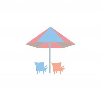 Free Stock Photo of Umbrella Summer Clipart Vector Design Isolated