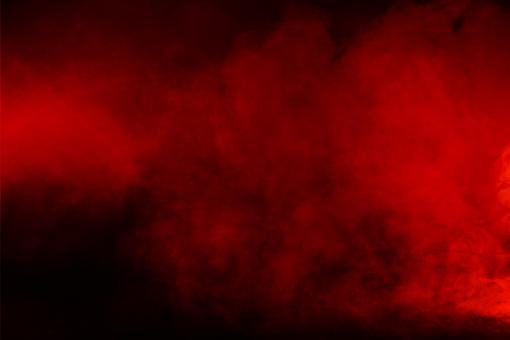 Free Stock Photo of Red Smoke - Red Background