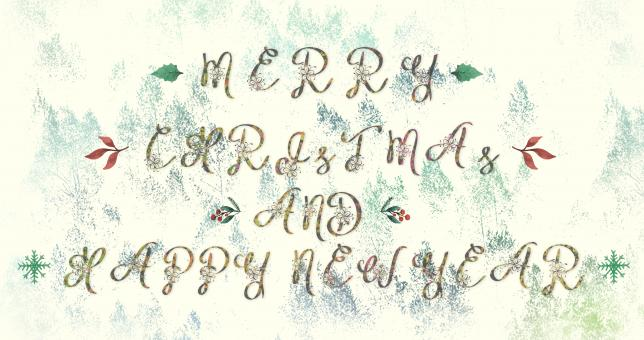Free Stock Photo of Merry Christmas & Happy New Year