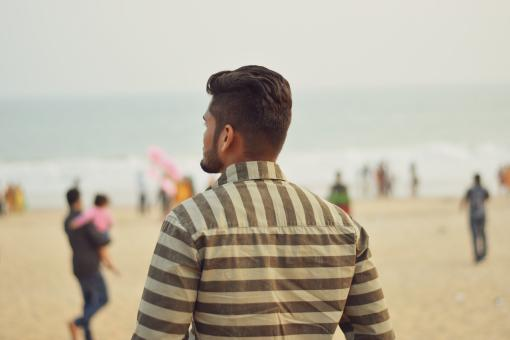 Free Stock Photo of At the Puri Beach