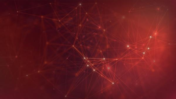 Free Stock Photo of Abstract Technology Background - Networks - Red