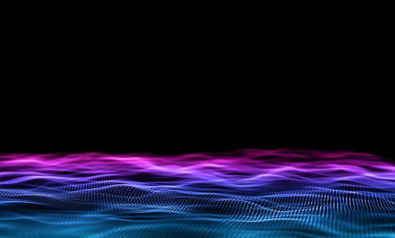 Free Stock Photo of Abstract Background - Blue and Purple Particles