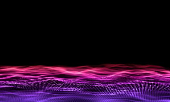 Free Stock Photo of Gradient - Purple Particles on Dark Background