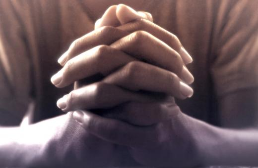 Free Stock Photo of Praying Hands - Person Praying - Faith - Prayer