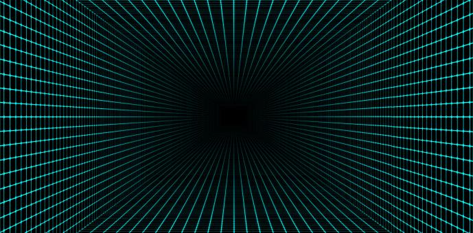 Free Stock Photo of Abstract Background - Tunnel - Technology Background