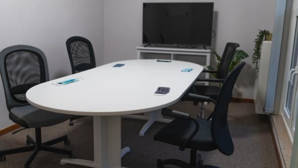 Free Stock Photo of Empty Meeting Room - Covid 19