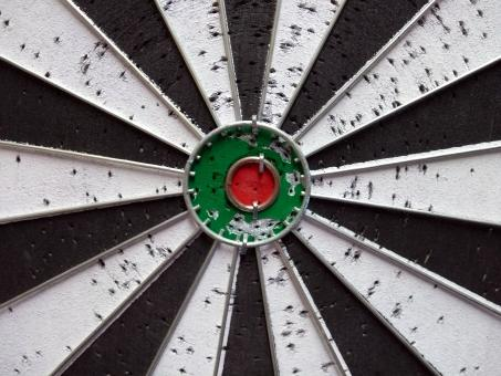 Free Stock Photo of Dart Board Bullseye Target