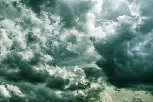 Free Stock Photo of Cloudy Sky - Dark Clouds