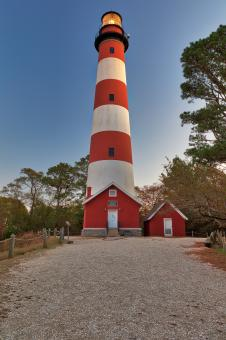 Free Stock Photo of Assateague Lighthouse