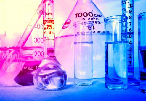 Free Stock Photo of Lab Equipment - Laboratory Glassware
