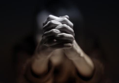 Free Stock Photo of Praying Hands - Person Praying - Belief - Faith