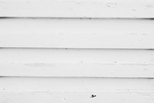 Free Stock Photo of old peeled white colored wood plank in vertical pattern