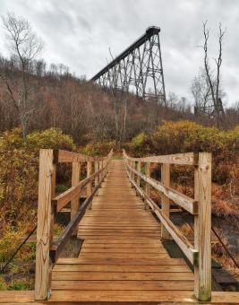 Free Stock Photo of Kinzua Bridges