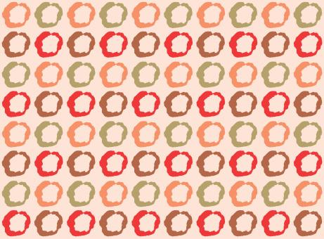 Free Stock Photo of Seamless grid pattern of circles
