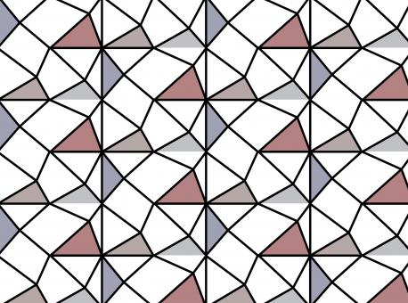 Free Stock Photo of Modern repeat triangles pattern