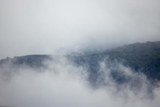 Free Stock Photo of Fog Mountain Photo