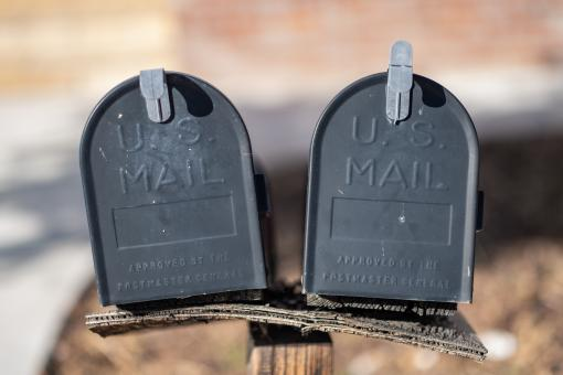 Free Stock Photo of Mail Boxes Photo