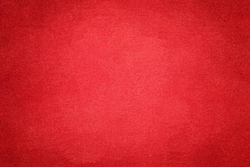 Free Stock Photo of Vivid Red Suede Fabric Texture