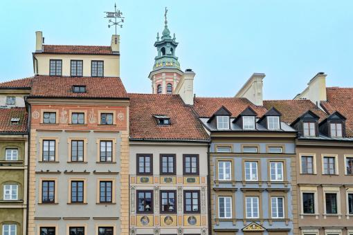 Free Stock Photo of Cityscape with old classic buildings in the Old Town