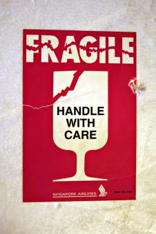 Fragile sticker - Free Stock Photo