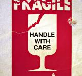 Free Photo - Fragile sticker