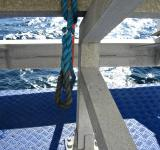 Free Photo - Metal bars and blue rope