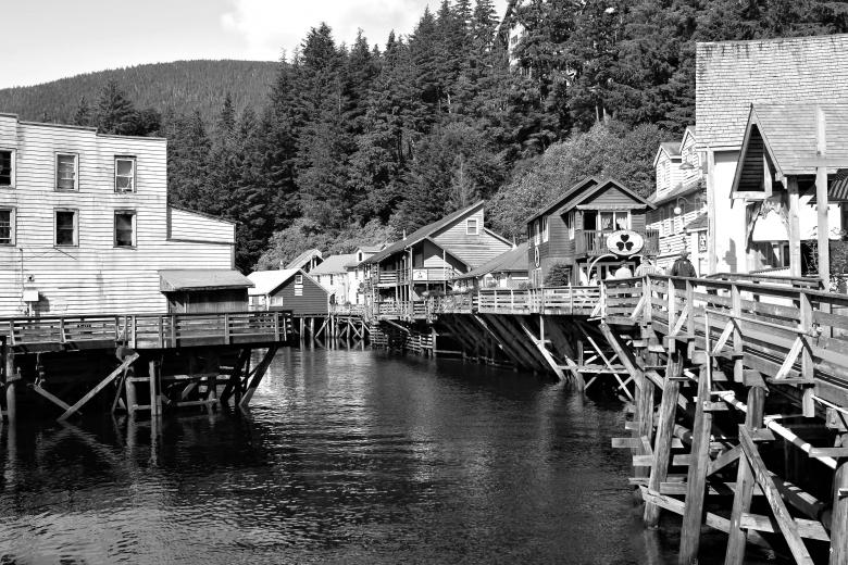 Free Stock Photo of Ketchikan Created by rhonda