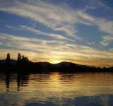 Free Photo - Comox Glacier Sunset From The Water