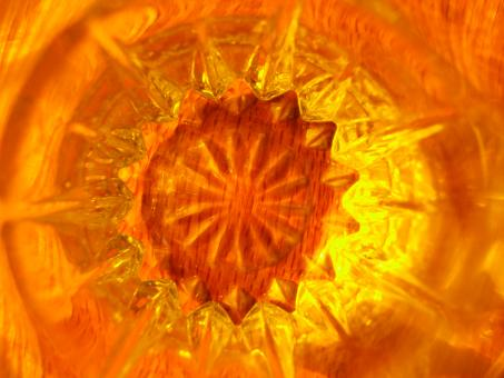 Orange Starburst - Free Stock Photo