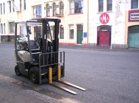 Forklift - Free Stock Photo