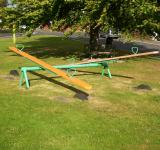 Free Photo - Green See Saw