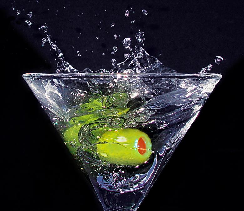Free Stock Photo of Martini