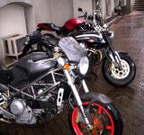 Free Photo - Ducati in the Rain