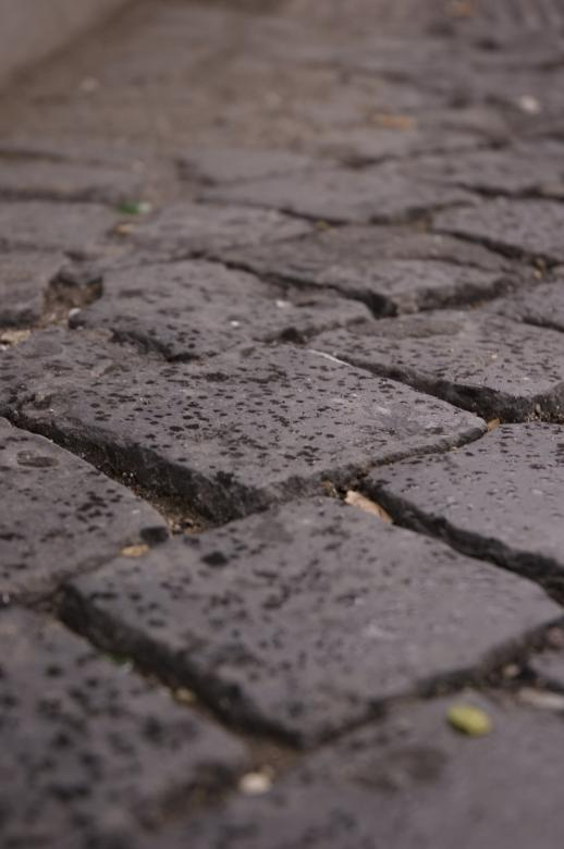 Free Stock Photo of Cobble Stone Pavement Created by dongyoung jung