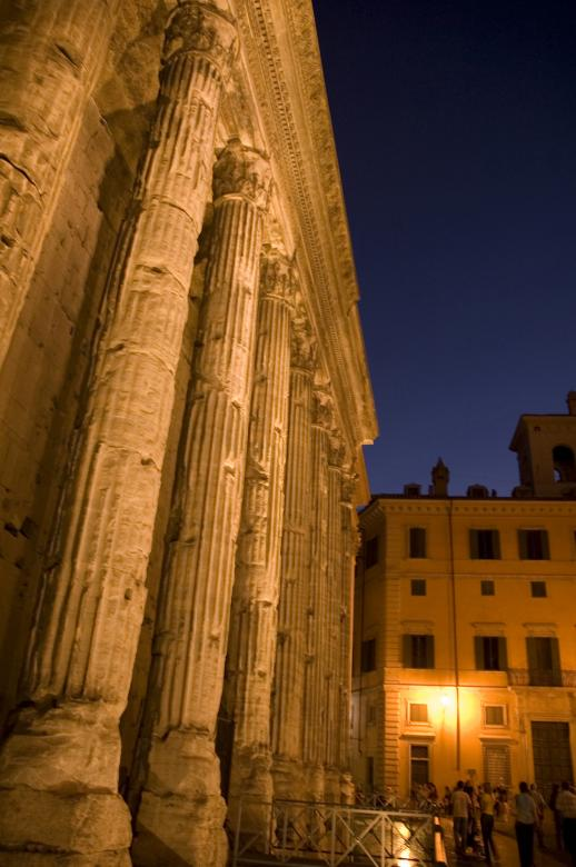 Free Stock Photo of Hadrian's Temple, Rome Created by dongyoung jung