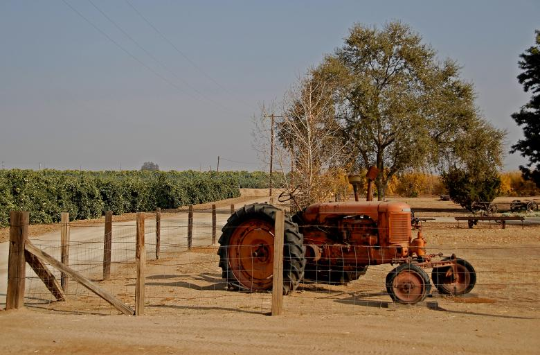 Free Stock Photo of Old Tractor Created by j. l. johnson