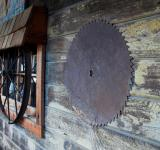 Free Photo - Saw Blade & Wagon Wheel Windows