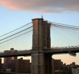 Free Photo - NY Bridge at Sunset