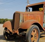 Free Photo - Front End of Old Chevrolet at Antique Sh