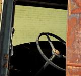 Free Photo - Steering Column of Old Chevrolet at Anti